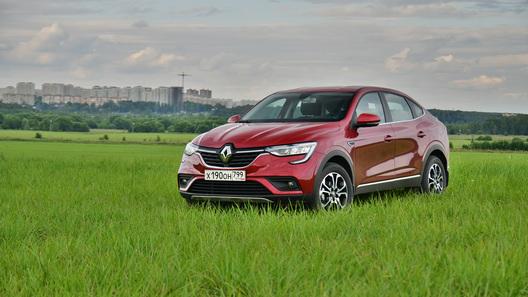 Блеск и скромность: тест-драйв Renault Arkana (с видео)