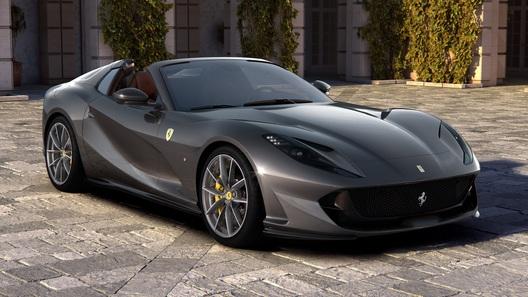 Праздник продолжается: Ferrari представила мощнейший родстер в мире