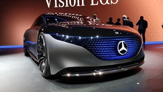 Салон, как у яхты: Mercedes выкатил будущий