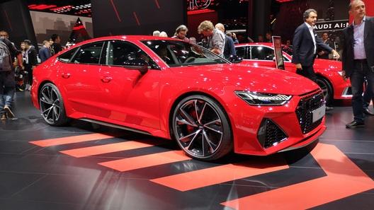 Audi рассекретила самую суровую версию A7