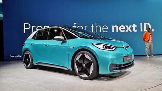 Volkswagen показал ID.3 - дальнобойное электрическое