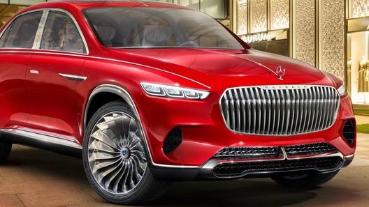 Люксовый Mercedes-Maybach GLS  будет представлен уже в этом году