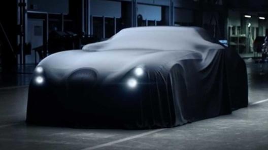 Восстав из пепла, марка Wiesmann начала рассекречивать новый спорткар