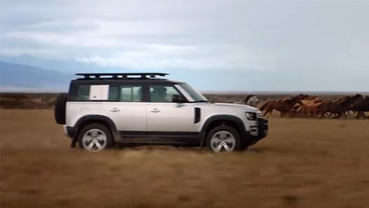 Land Rover обвинили в сексизме из-за рекламы нового Defender (видео)