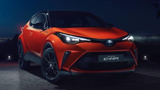 Toyota обновила кроссовер C-HR для Европы. Ждем и в России