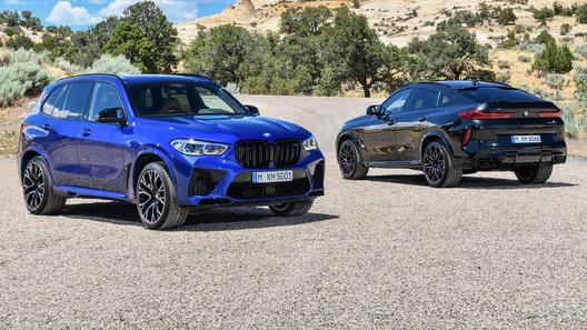 Представлены новые BMW X5 M и X6 M с разгоном 0-100 за 3,8 секунды