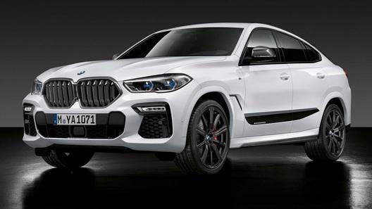 BMW предложила набор М-аксессуаров для больших M- и