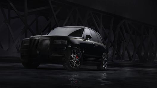 Роскошному кроссоверу Rolls-Royce Cullinan выдали