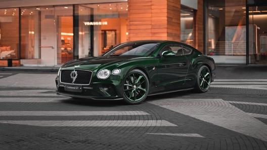 В Россию привезли три коллекционных суперкупе Bentley Continental GT