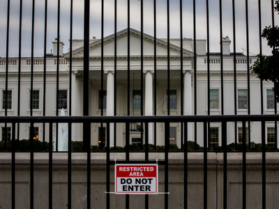 В Белом доме в США отменен режим ЧС
