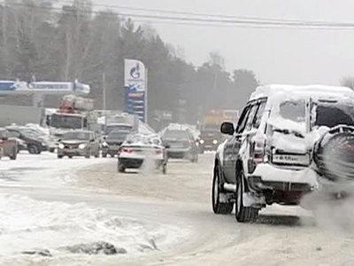 В Алтайском крае четыре трассы перекрыты из-за непогоды