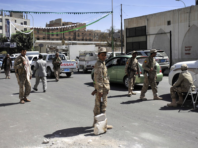 В результате теракта в Йемене погибли пять солдат