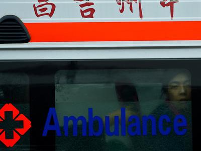 В Китае столкнулись автобус и легковушка, погибли 12 человек