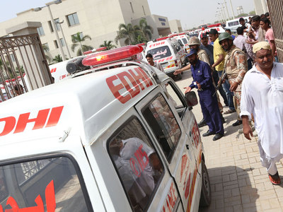 Число погибших при взрыве в Пакистане увеличилось до 40