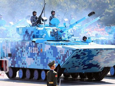 Китай показал суперскоростную боевую амфибию