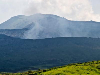В Японии произошло взрывообразное извержение вулкана Асо