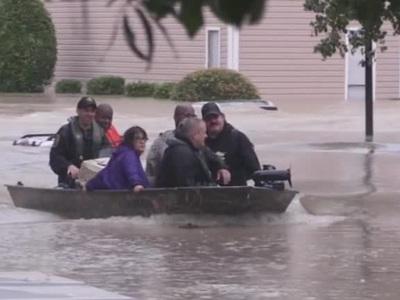 Наводнение в США: реки затопили город в Мэриленде