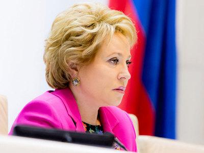 Матвиенко предложила наказывать за детей-манифестантов их родителей