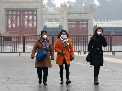 """Жителей и гостей Пекина предупредили о """"желтом"""" тумане"""