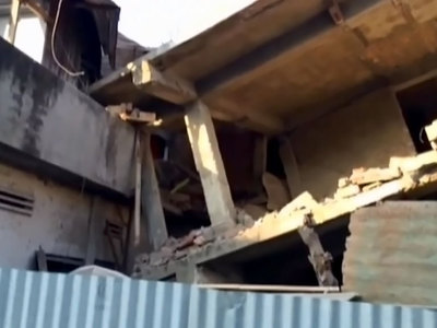 Мощное землетрясение вызвало разрушения на северо-востоке Индии