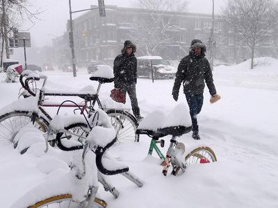Из-за штормового ветра в Канаде нарушено транспортное сообщение