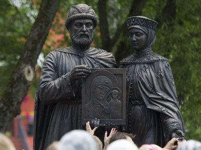На Сухаревской площади появится памятник Петру и Февронии
