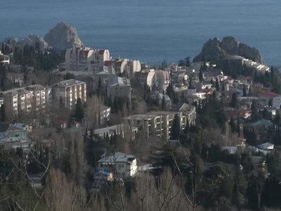 В Крыму ожидается ураганный ветер и мощный снегопад