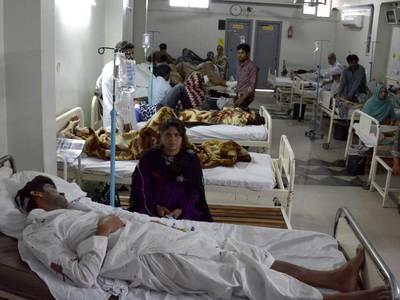 Взрыв у парламента Лахора: 13 человек погибли