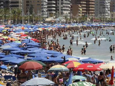В Испании установилась аномальная жара