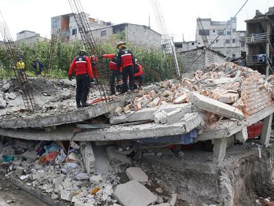 В Эквадоре произошло очередное землетрясение