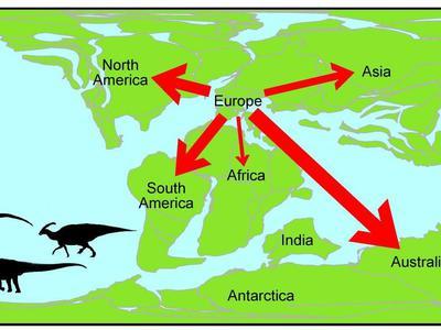 Ископаемые беженцы: динозавры мигрировали из Европы и не вернулись