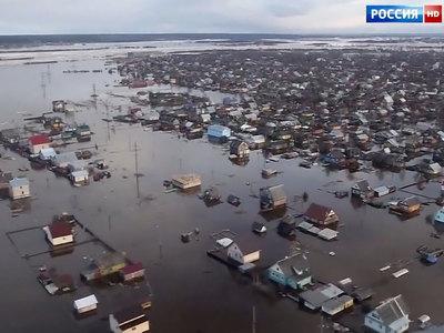 Потоп под Омском: погибло все - от огурцов до картофеля