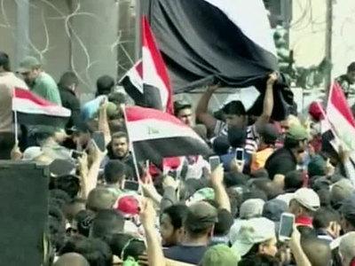 Беспорядки в Багдаде не обошлись без жертв