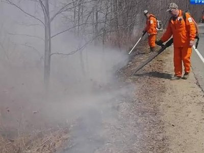 В Приморье усилены меры пожарной безопасности в лесах