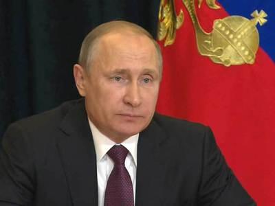 Путин выразил соболезнования и предложил помощь Мексике