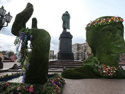 Мэрия Москвы: реконструкция памятника Пушкину не имеет политической подоплеки
