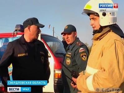 Почти сутки сотрудники МЧС боролись с лесным пожаром в Тавдинском округе
