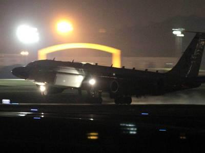 Британский самолет совершил разведывательный полет у границ РФ