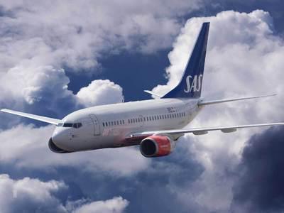 Самолет SAS сел в Мюнхене со сломанным двигателем