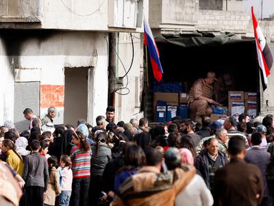 ООН отправит гумпомощь в Дейр-эз-Зор с помощью российских самолетов