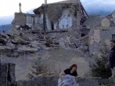 В центре Италии произошло новое землетрясение
