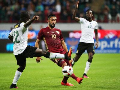 Сборная России обыграла команду Ганы