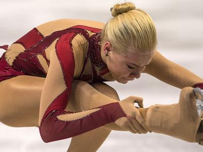 Фигуристка Анна Погорилая лидирует на Finlandia Trophy