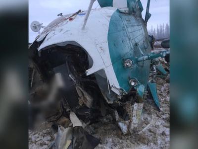 При крушении Ми-8 из 22 выжили лишь трое
