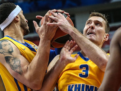 """Баскетболисты """"Химок"""" нанесли поражение """"Милану"""""""