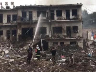 Число жертв взрыва в Китае возросло