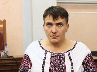 Обвиненная в попытке переворота Савченко попросила у украинцев поддержки