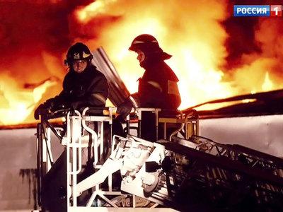 В городе Новокубанске на центральном рынке произошел пожар