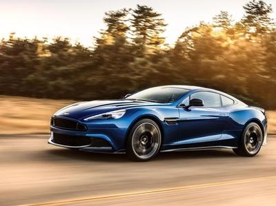 """Aston Martin Vanquish спел """"лебединую песню"""" в Лос-Анджелесе"""