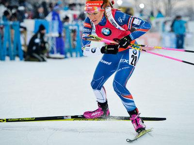 Биатлон. Чешка Габриэла Коукалова – сильнейшая в гонке преследования